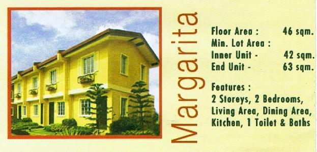 Camella Davao - Communal, Buhangin, Davao City - Margarita model