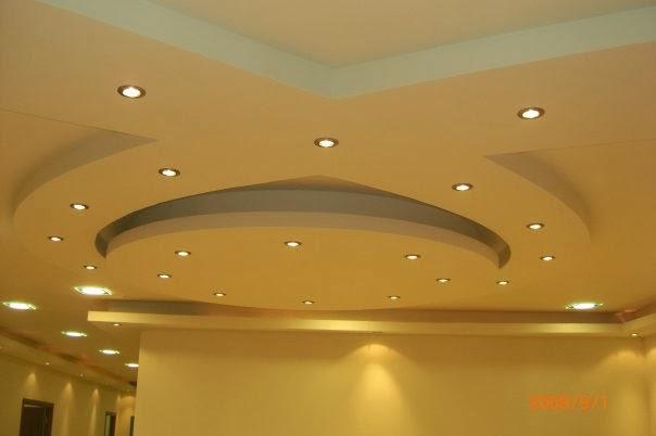 Gypsum false ceiling designs for living room part