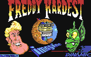 Freddy Hardest Commodore 64