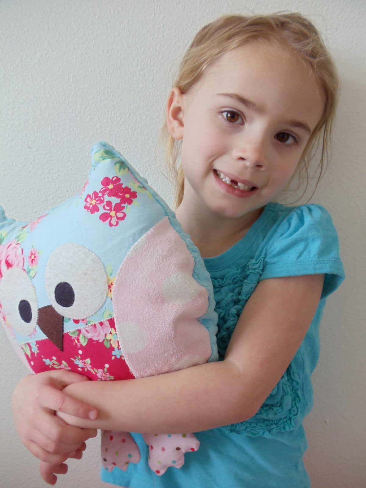 Owl Pillow Pattern My Cotton Creations Sewing For Children Owl Pillow Pattern And