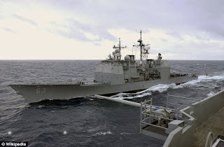 US and China near collision in South China Sea