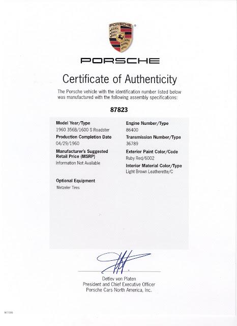 Porsche 87823