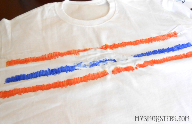 How to create tie dye t-shirts with Sharpie markers at my3monsters.com