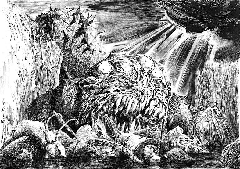 Dessins dieux anges d mons - Dessin ange demon ...