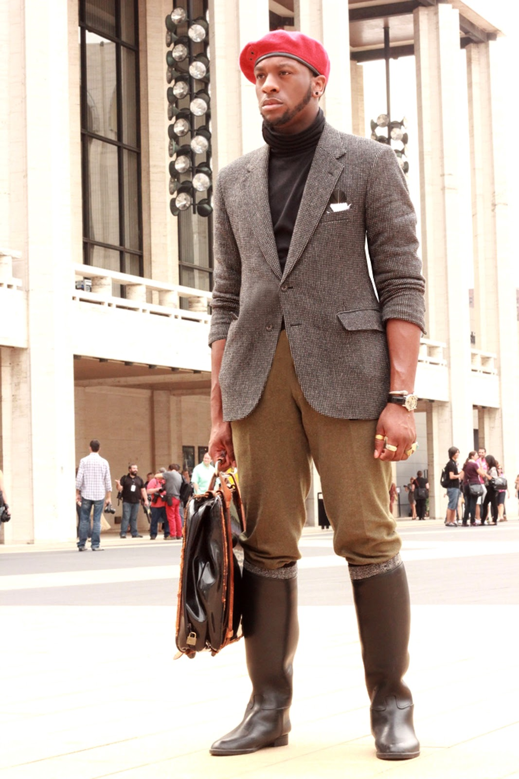 the xstylez fashion friday equestrian boots for men