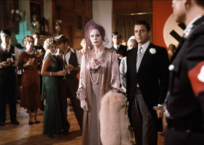 The Damned (1969), The marriage scene, Ingrid Thulin as Sophie and Dirk Bogarde as Frederick Bruckmann get married,  Directed by Luchino Visconti