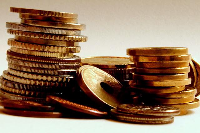 Moedas douradas - golden coins