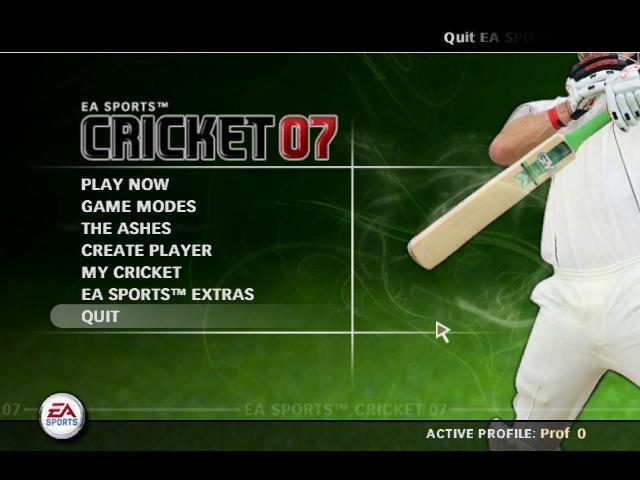 EA SPORTS CRICKET 2007 (PC)