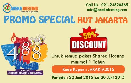 Promo Hut Jakarta 2015