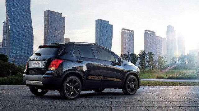 Ra mắt xe Chevy Trax Midnight Edition 2016