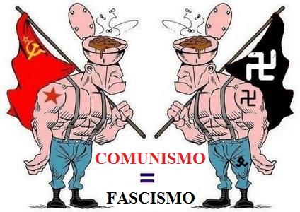 COMUNISMO = FASCISMO