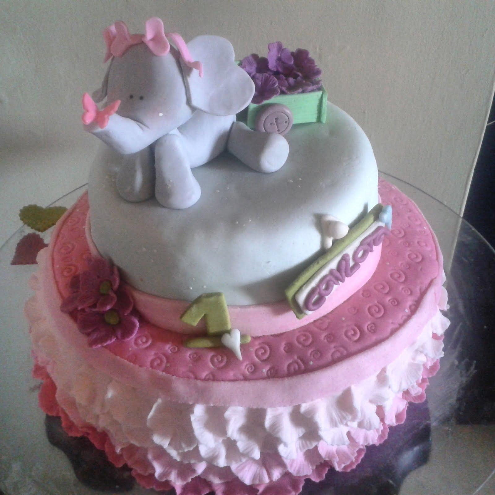Torta Baby elefante