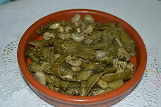 Salade de fèves