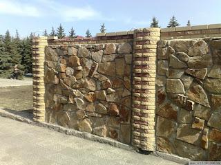 Каменный забор. Фото 17