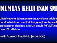 Hasil UN SMP 2015 Cara Cek Online Situs Resmi Disini