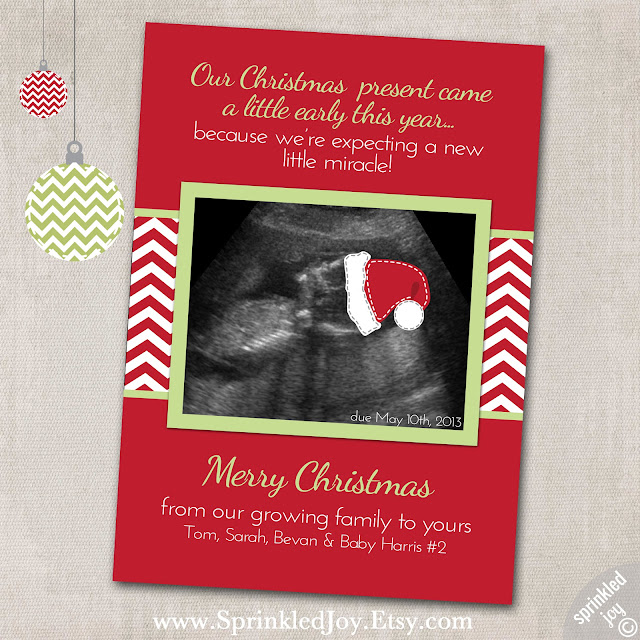 And Spiritually Speaking: Christmas Pregnancy Announcement.