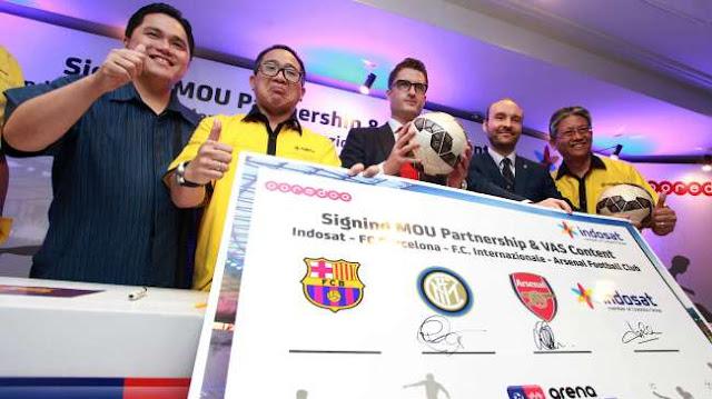 Indosat amplía catálogo con el Arsenal