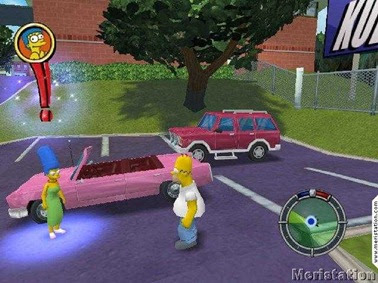 descargar los simpsons hit and run pc