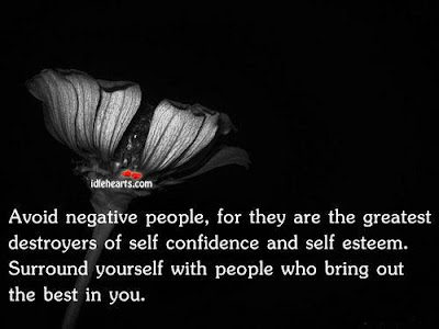 IDENTIFYING AND DEALING WITH NEGATIVE PEOPLE