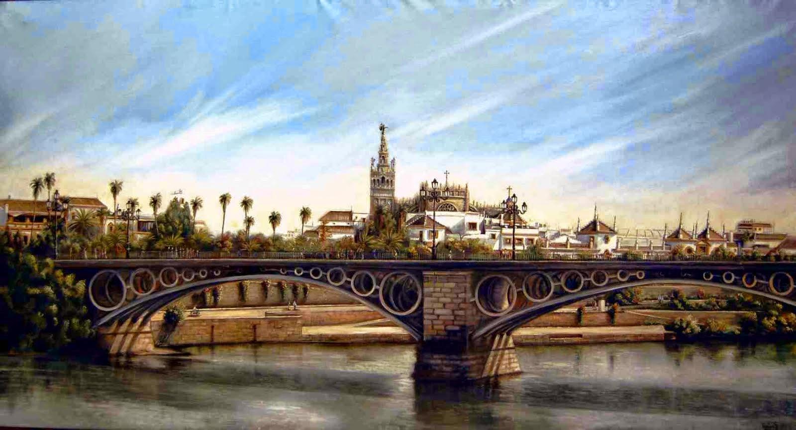 Sevilla en primavera for Todo pintura sevilla