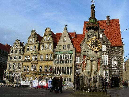 Bremen - här är jag född och uppvuxen 1959-1970