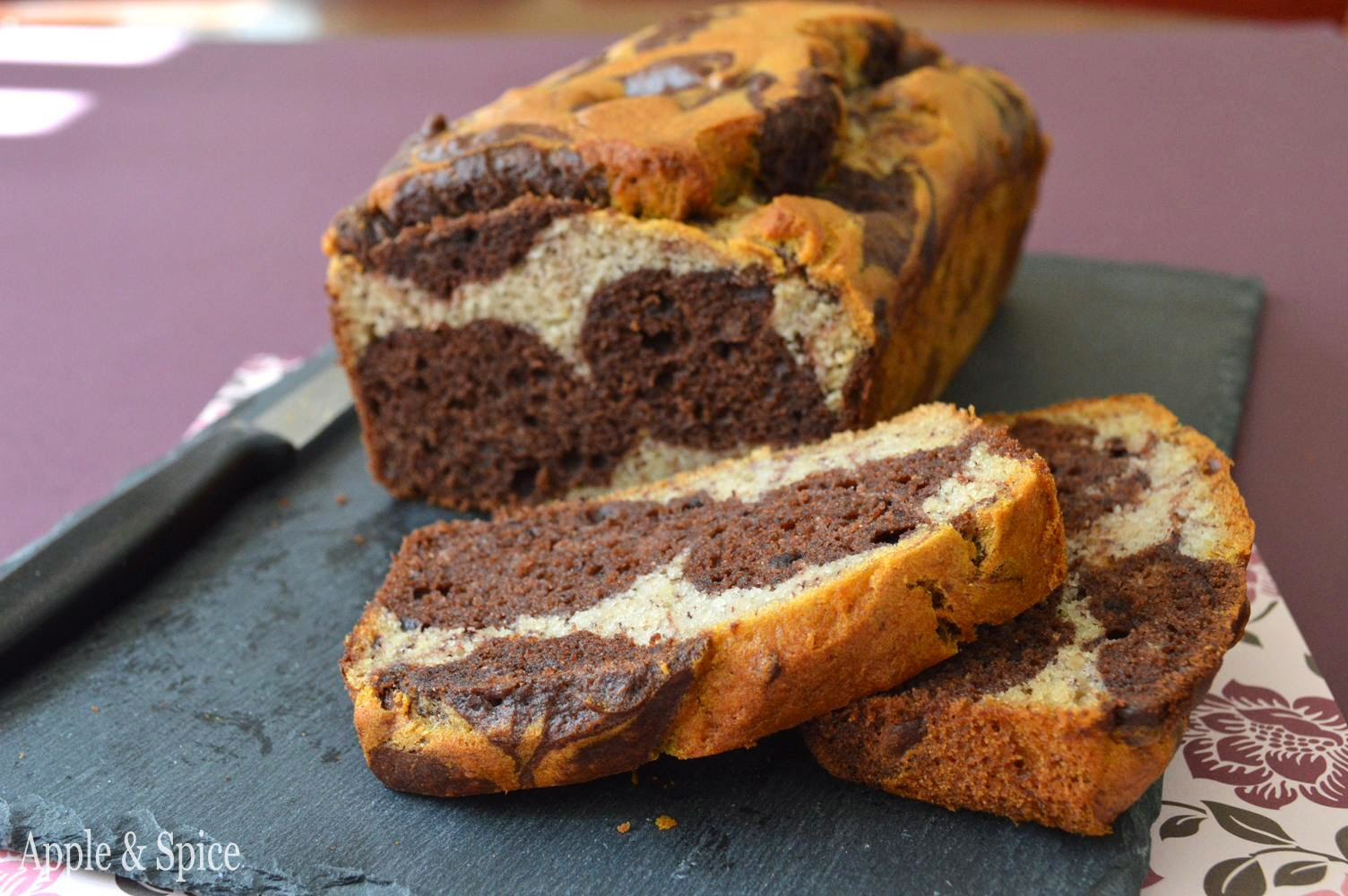 Chocolate Banana Marble Bread Recipes — Dishmaps