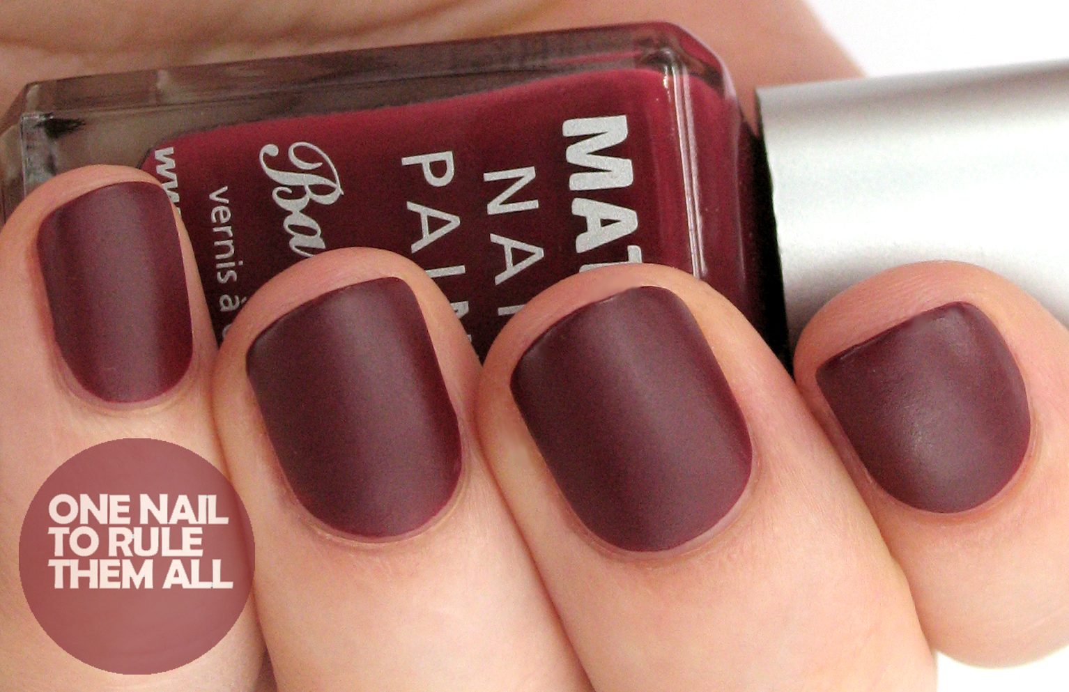 One Nail To Rule Them All: Barry M Autumn/Winter 2013 Classic Matte ...