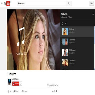 youtube com - kate upton