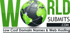 WorldSubmits.com - Low Cost Domain Names and Web Hosting