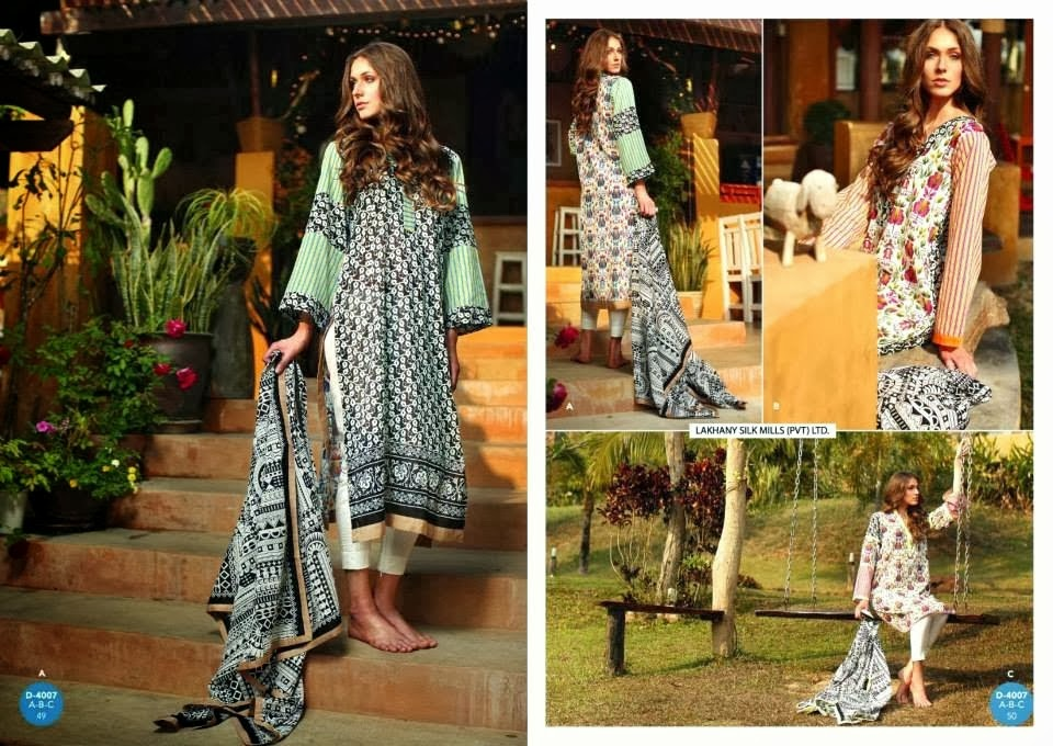 Latest Embroidery Lawn Collection