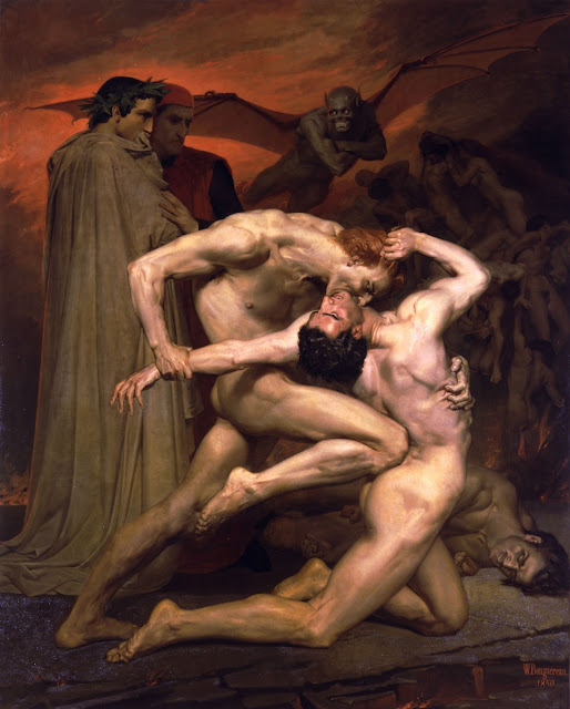 Dante,Virgil,William Adolphe Bouguereau