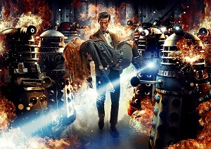 Doctor Who Asylum of the Daleks The Doctor and Amy Pond