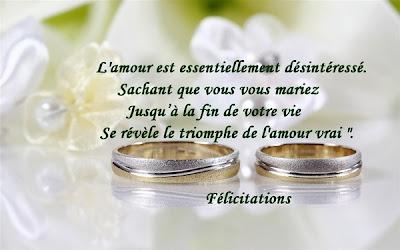 Top du meilleur f licitations de mariage carte et texte - Mot de felicitation mariage ...