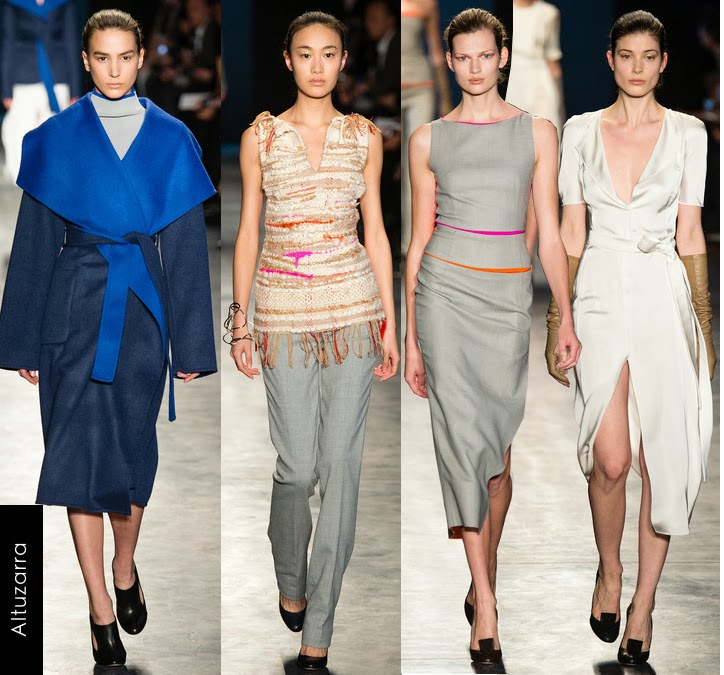 altuzarra womens fall 2014