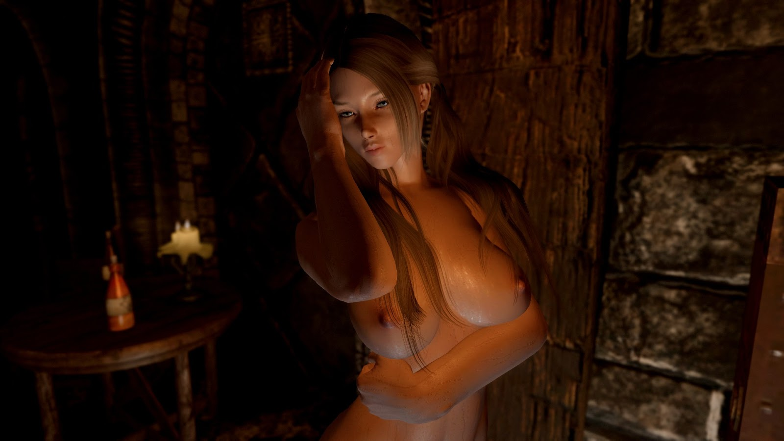 Skyrim nude models hentia video