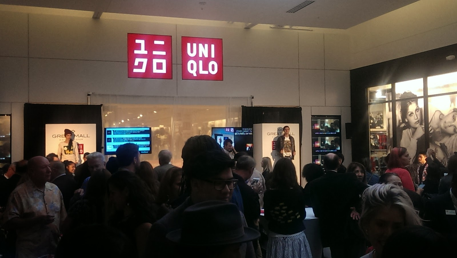 UNIQLO Great Mall store opening