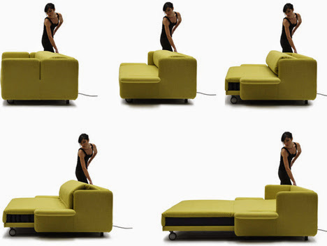 Innovative and Cool Convertible Sofa Designs (10) 1