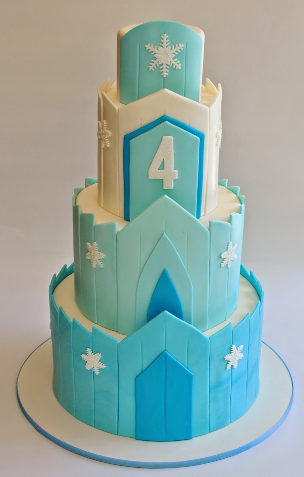 Hopes Sweet Cakes Avengers Super Hero and Frozen Ice Castle Cake