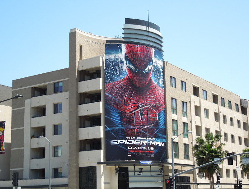 Amazing Spiderman billboard