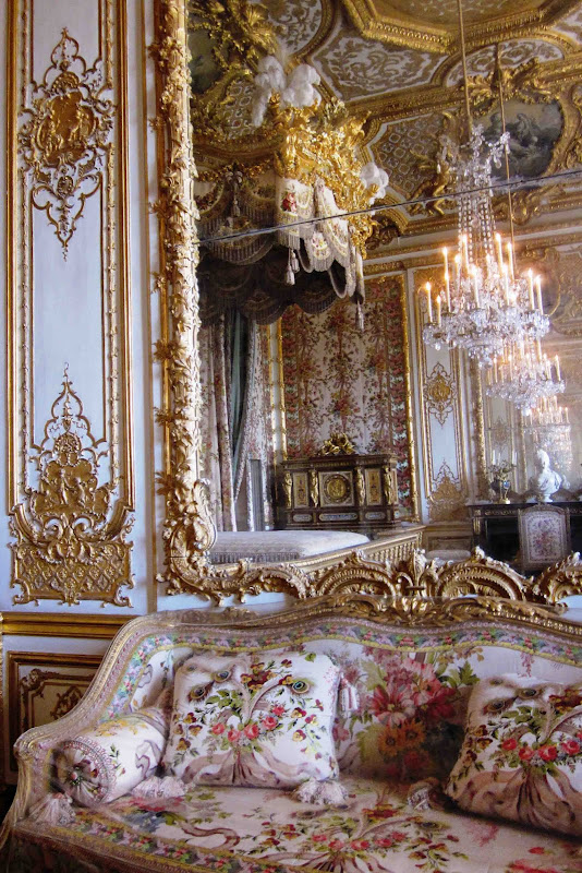it was from this room that marie antoinette fled from rioters on july