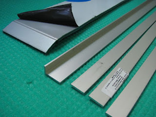 Alubond and aluminum flat stock
