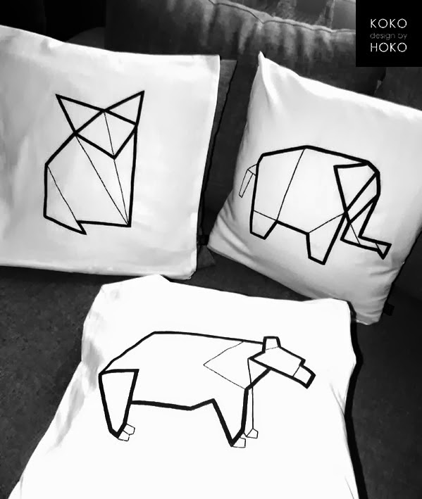 gadzety do domu inspirowane origami