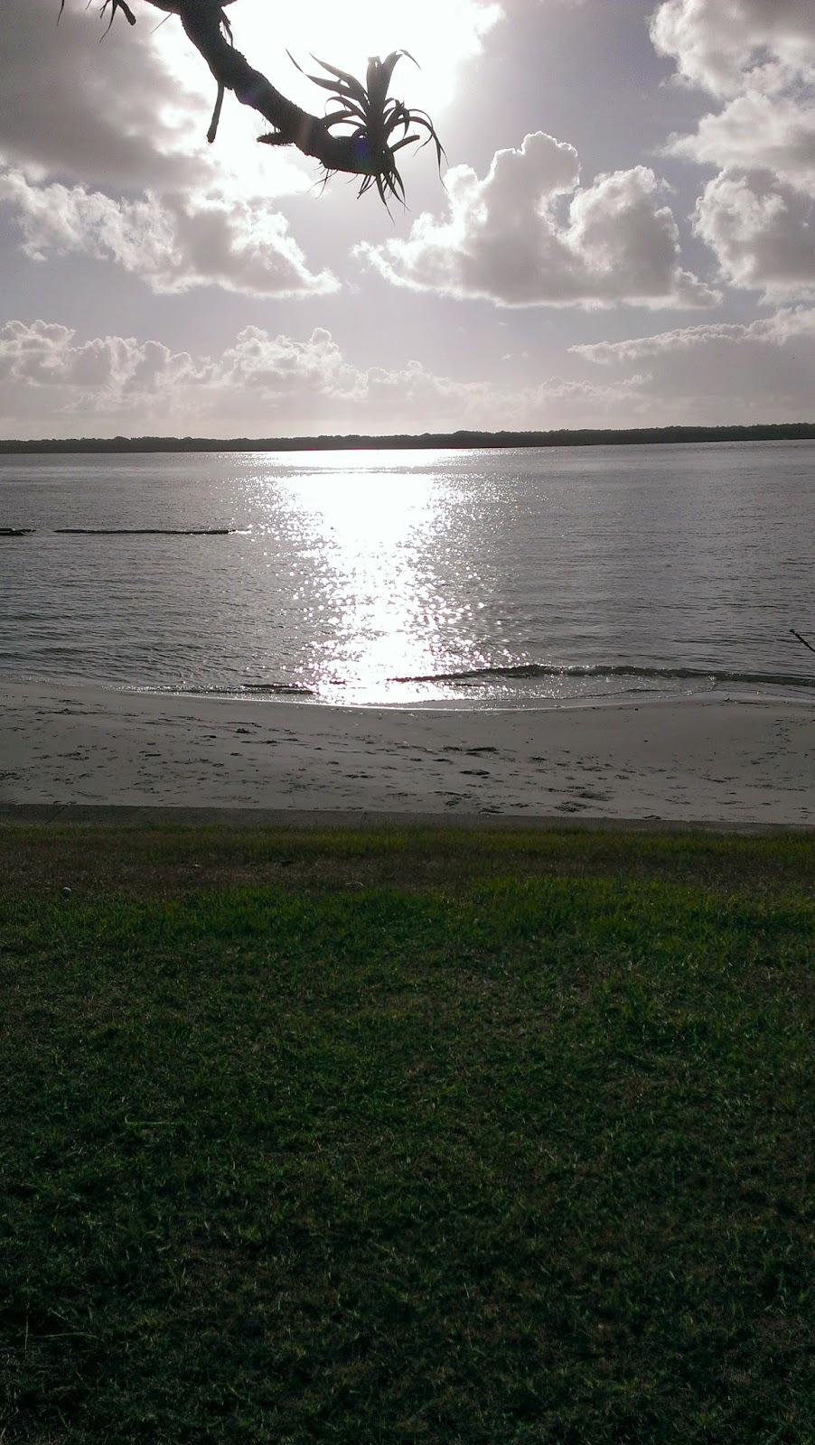 Sun silver water