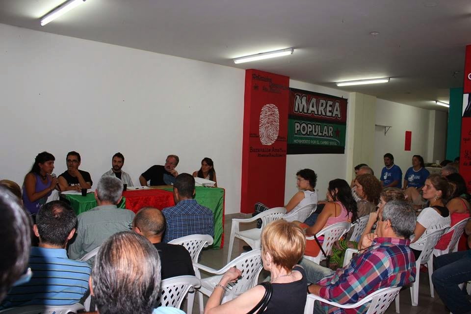 INAUGURACIÓN DE CASA POPULAR MARÍA CLAUDIA FALCONE