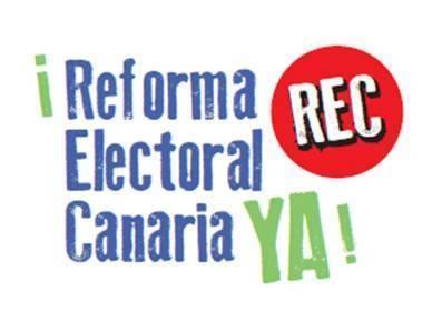 La ciudadanía exige la Reforma Electoral Canaria YA!,