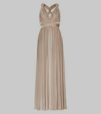 Gold New Look Grecian Dress - Affordable Wedding Dresses