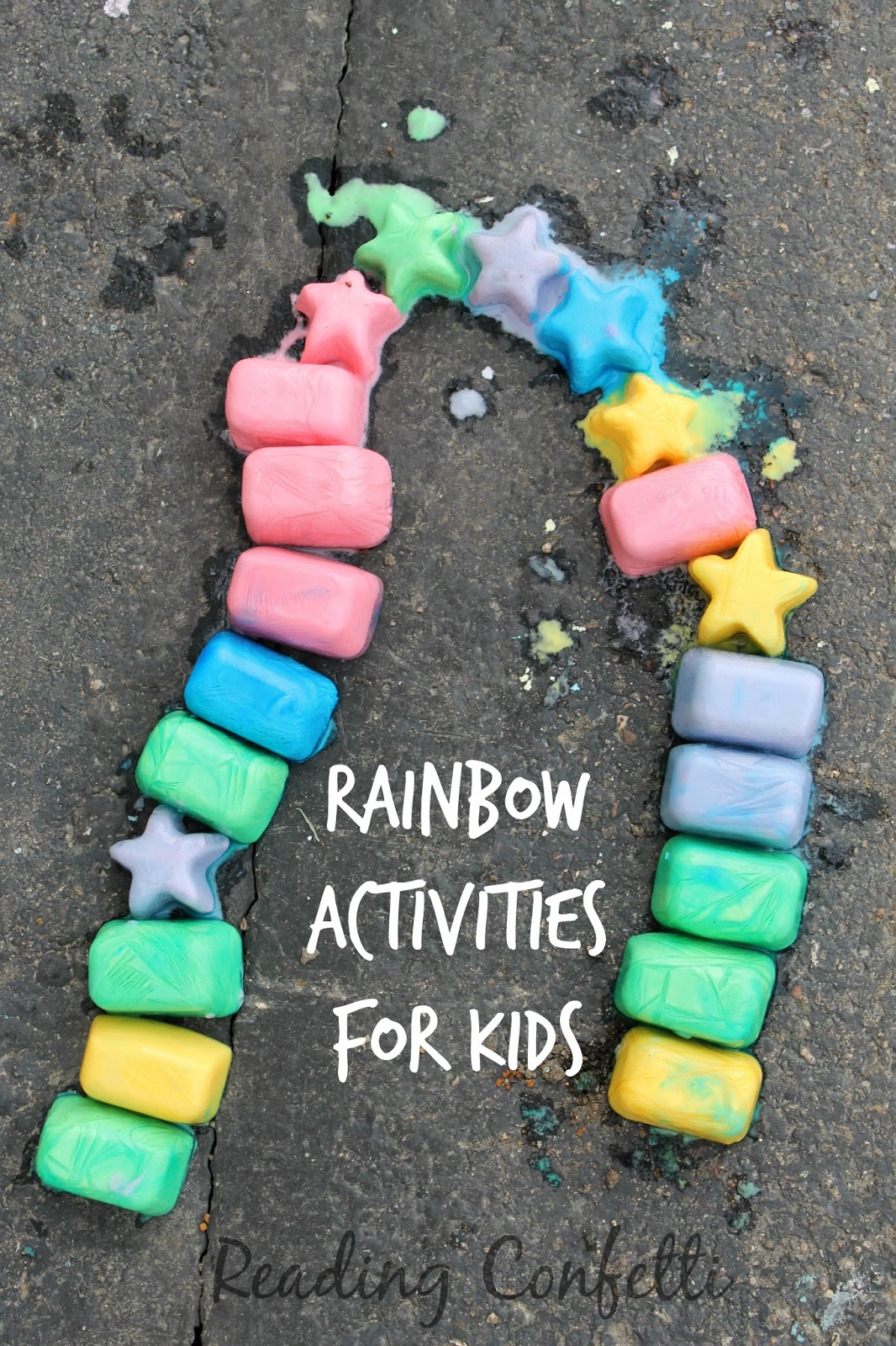 Creative rainbow crafts and activities for kids