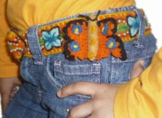 CINTURONES INFANTILES BORDADOS PERUANOS
