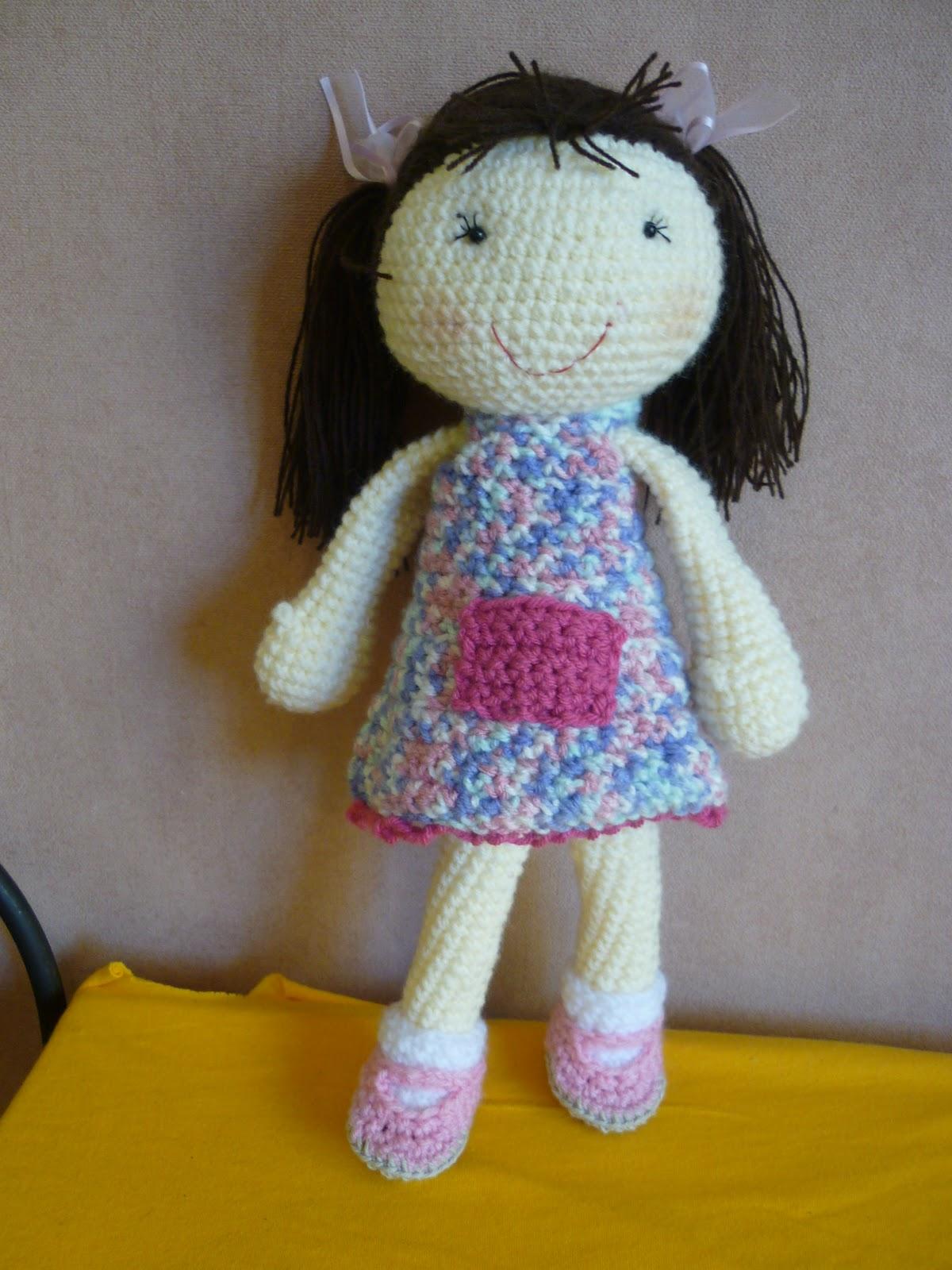 Angel Amigurumi Paso A Paso : Tejiendo Suenos: Muneca base amigurumi crochet + Patron