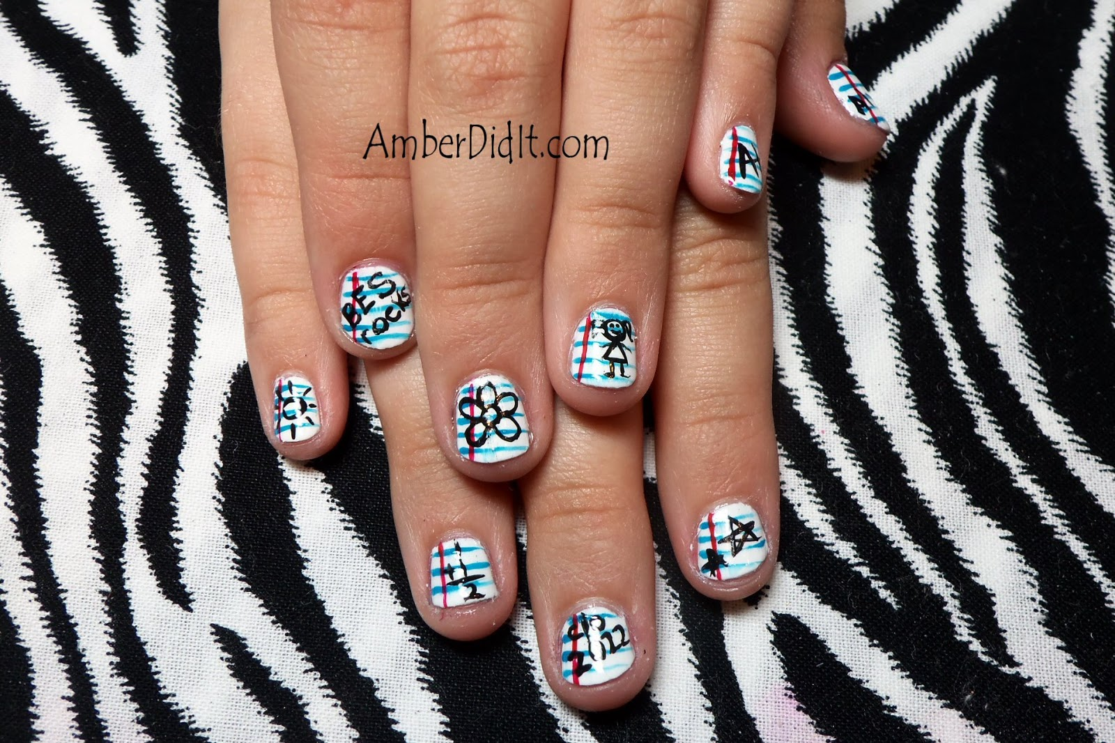 Amber Did It Nail Art For Kids